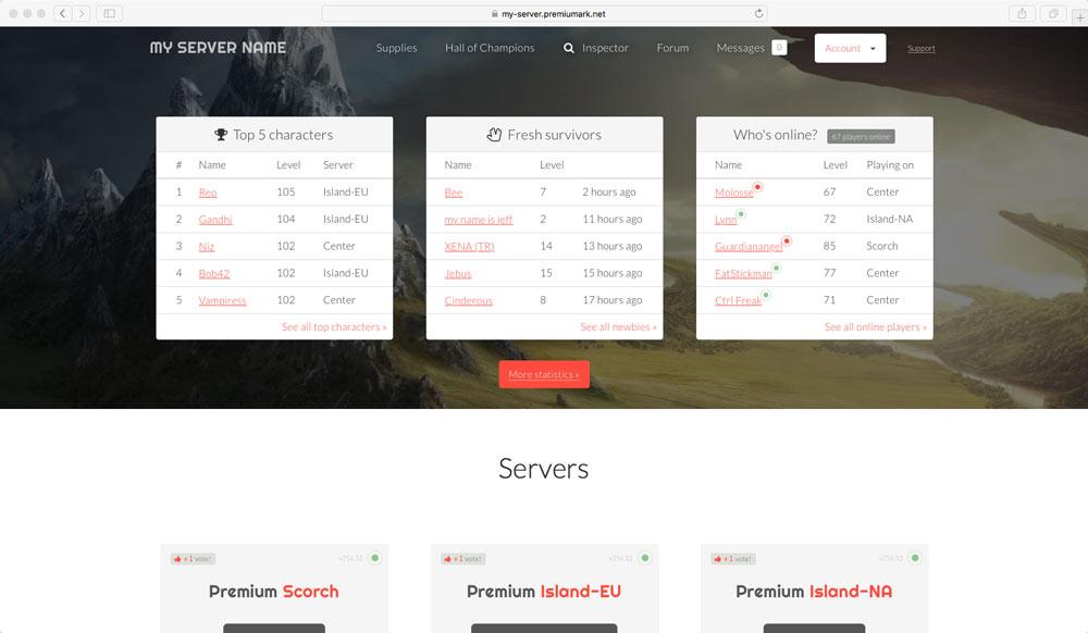 Gameserver Manager - GameserverApp com